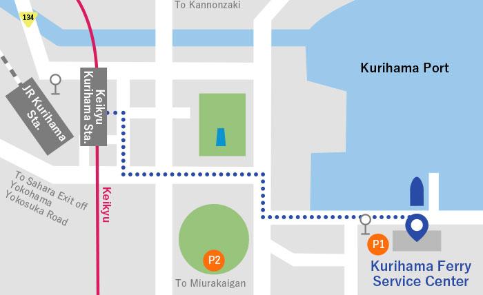 Kurihama Port | Tokai Kisen Co , Ltd  | Travel and Tours to