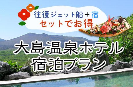 大島温泉ホテルプラン
