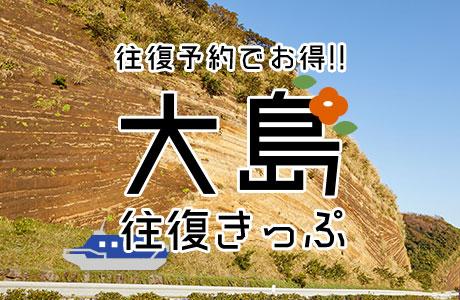 大島往復きっぷ